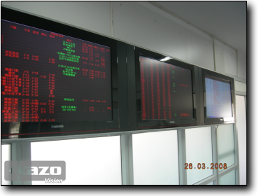 Manufacturing company monitor center