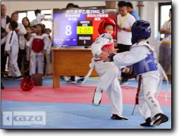 the 2nd Excellent Cup Taekwondo Competition of Suzhou