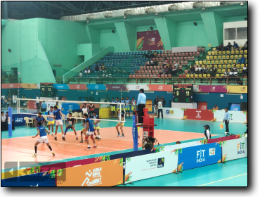 KHELO INDIA YOUTH GAMES 2020 - Volleyball