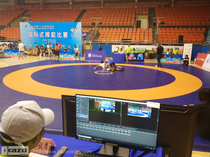 Wrestling Competition of the 13th Sports Games of Hunan